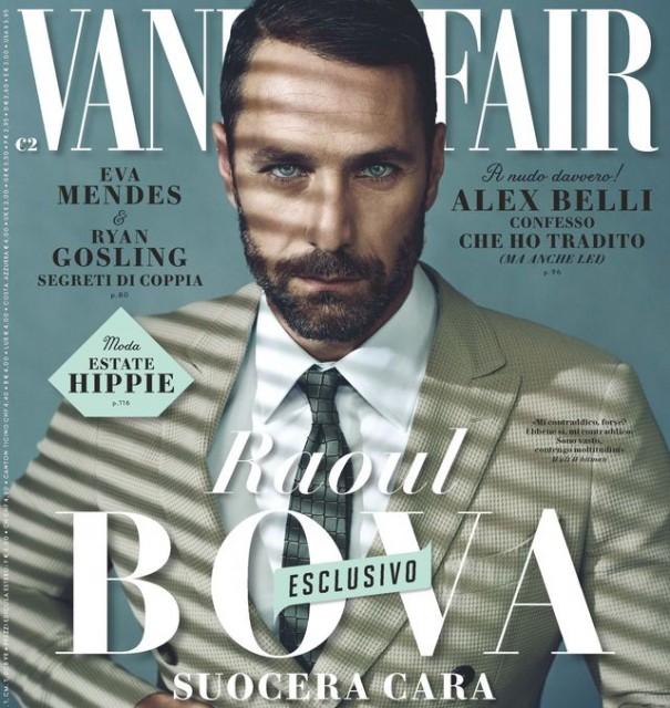Gossip – Raoul Bova risponde alla suocera sulle pagine di Vanity Fair