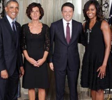 """Obama """"benedice"""" Renzi"""