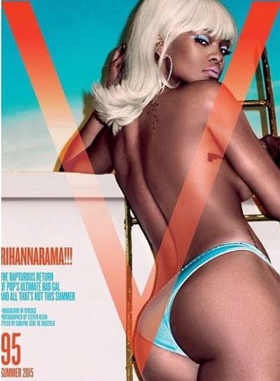 Gossip – Rihanna bionda platino per foto hot di V Magazine