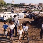 Napoli - Bimba rom morta folgorata da cavo elettrico