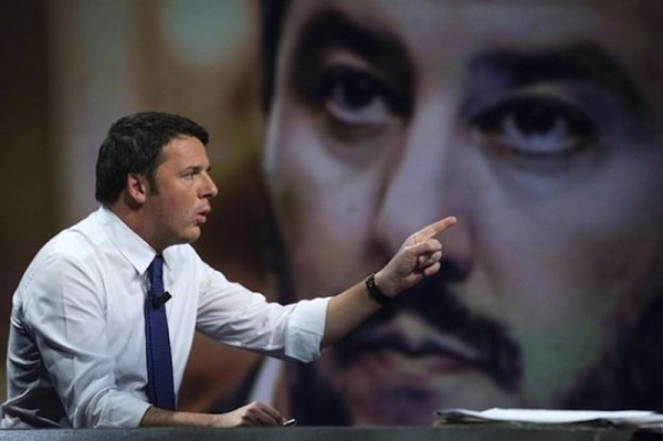 "Salvini batte Renzi nella guerra dei ""mi piace"" su Facebook"
