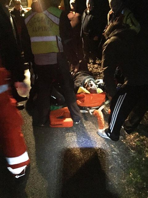 La Spezia – Anziano 92enne cade in un dirupo, salvato