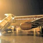 aeroporto pioggia