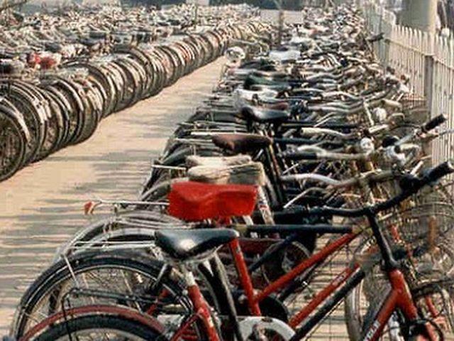 Ladri di biciclette fermati in via di Francia