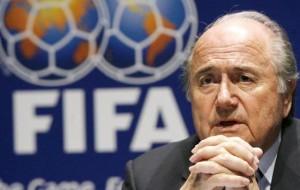 Joseph Blatter, presidente uscente della FIFA