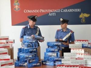 Sigarette di contrabbando al porto di Genova