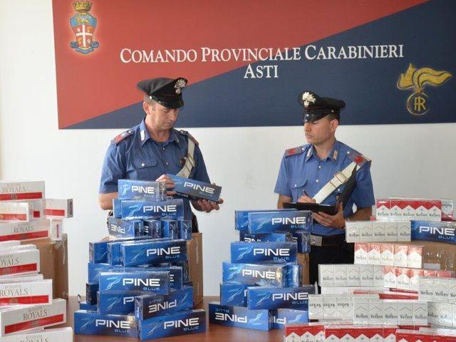 Sigarette di contrabbando dalla Tunisia vendute in Piemonte
