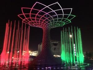 L'Albero della Vita a Expo 2015