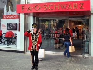 Fao Shwartz, chiude a NY il negozio di giocattoli