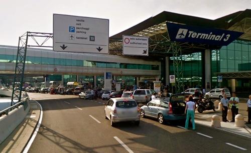 Roma – Incendio ad Aeroporto Fiumicino: decolli bloccati
