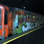graffiti metropolitana