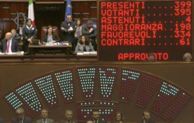 """Italicum è legge, Renzi: """"Promessa rispettata"""""""