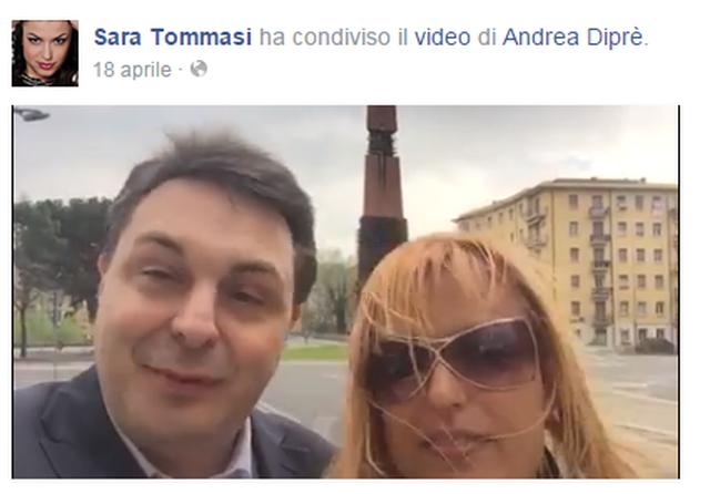 Sara Tommasi e Andrea Diprè sposi il 10 giugno a Montecarlo