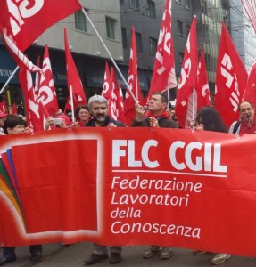 Corteo Cgil a Genova