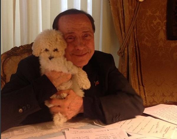 Gossip – Silvio Berlusconi sbarca su Instagram con Dudù e Francesca Pascale