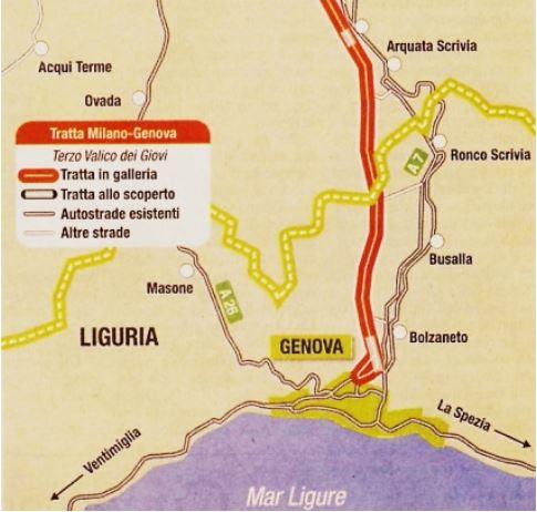Liguria – Blitz No Tav al cantiere del Terzo Valico a Genova Trasta