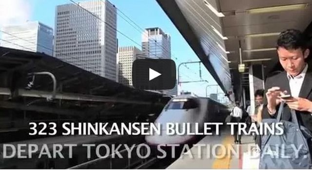 Treni – In Giappone la squadra di pulizia più veloce del mondo – VIDEO