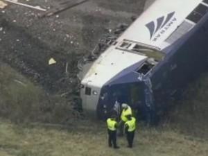 Treno deragliato a Filadelfia, 5 morti