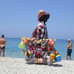 venditore ambulante senegalese