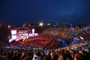 L'arena di Verona ospita il Wind Music Awards 2017
