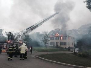 Aereo precipita su villa in Massachusetts