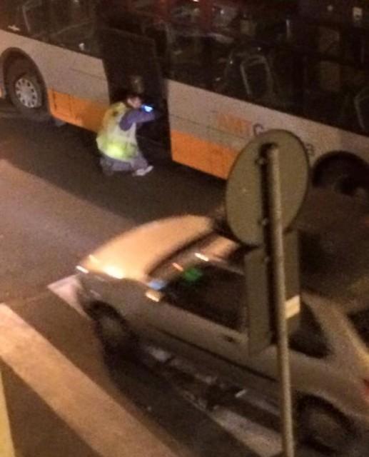 Marassi – Autobus con tifosi si guasta e il traffico finisce nel caos