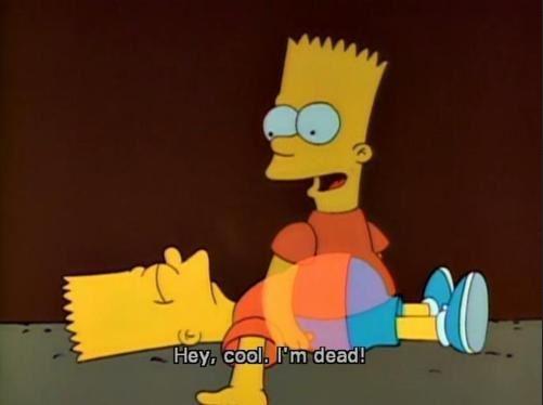 Bart Simpson muore ucciso da TeleSpalla Bob (ma poi risorge)