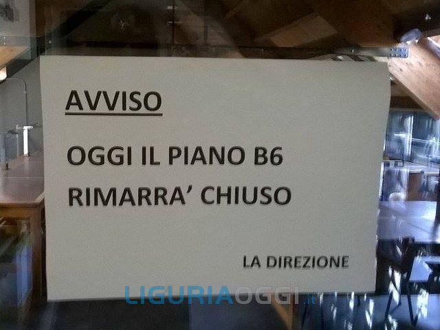Biblioteca Berio off limits per il troppo caldo
