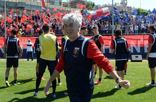 Genoa – Gian Piero Gasperini ha rinnovato contratto fino a 2018