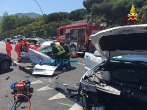 Grave incidente in viale Italia a La Spezia