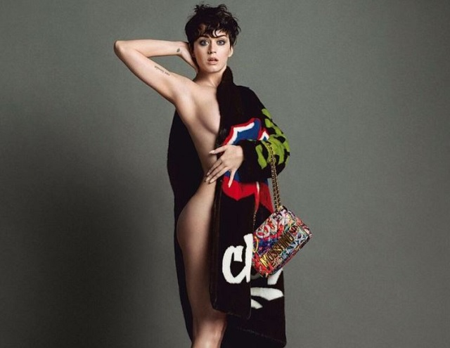 Gossip – Katy Perry (quasi) nuda per Moschino