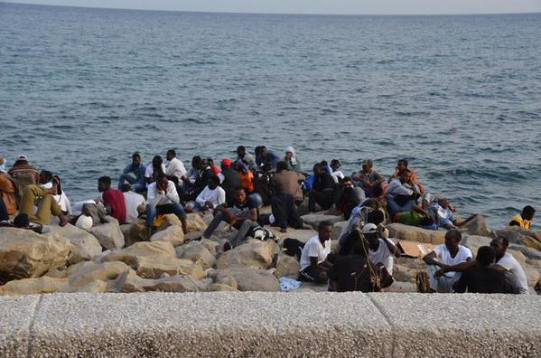 Ventimiglia – Sgombero migranti: 2 profughi fermati per resistenza