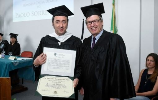 """Napoli – Laurea honoris causa a Paolo Sorrentino: """"Più emozionato che agli Oscar"""""""