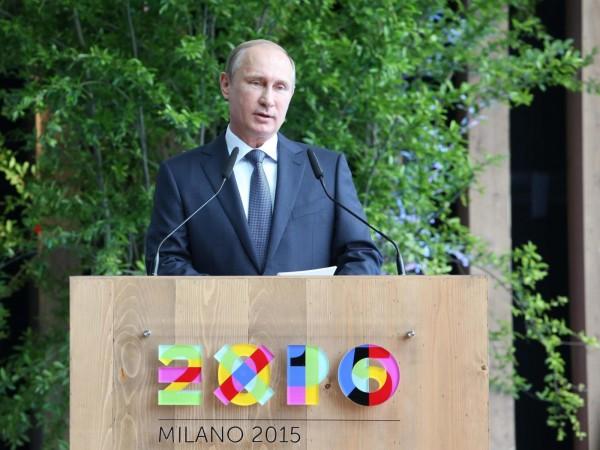 """Putin all'Expo di Milano con Renzi: """"Italia grande partner della Russia"""""""