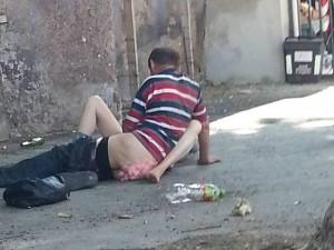 Sesso per strada a Roma