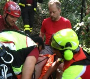 Escursionista tedesco salvato alle 5 Terre