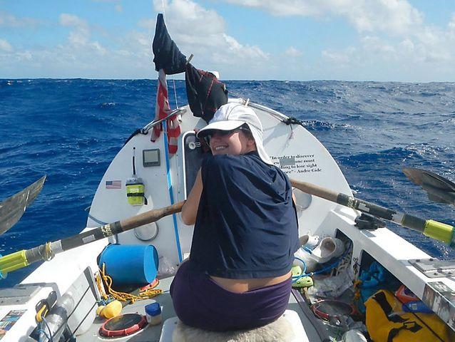 Voleva attraversare l'Oceano a remi, soccorsa dopo appena 250 km