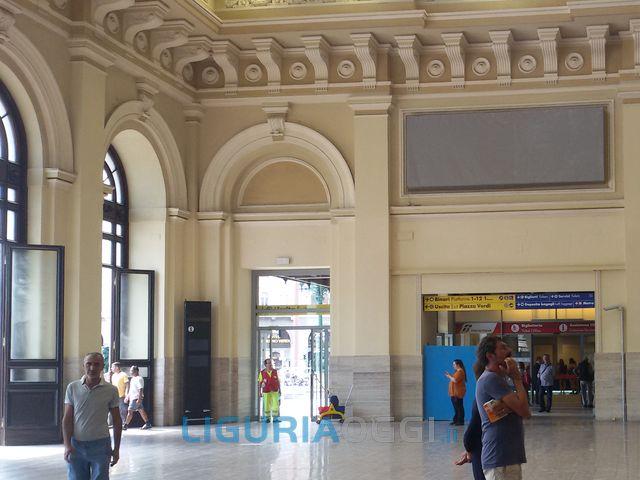 Stazione di Brignole – Concluso restauro dell'atrio principale
