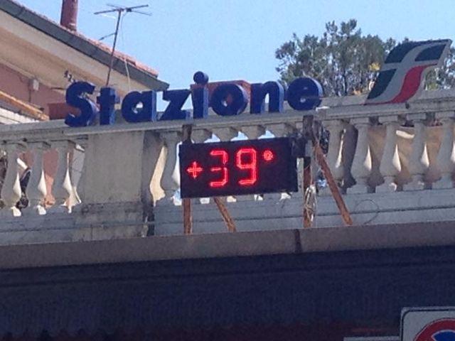 Meteo Liguria - Arriva il caldo torrido