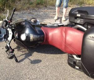 Cavi d'acciaio contro i motociclisti in Provenza