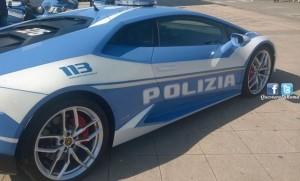 Lamborghini Huracan della Polizia Stradale