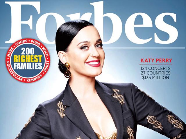 Gossip – Forbes non ha dubbi: Katy Perry è la star più ricca del mondo
