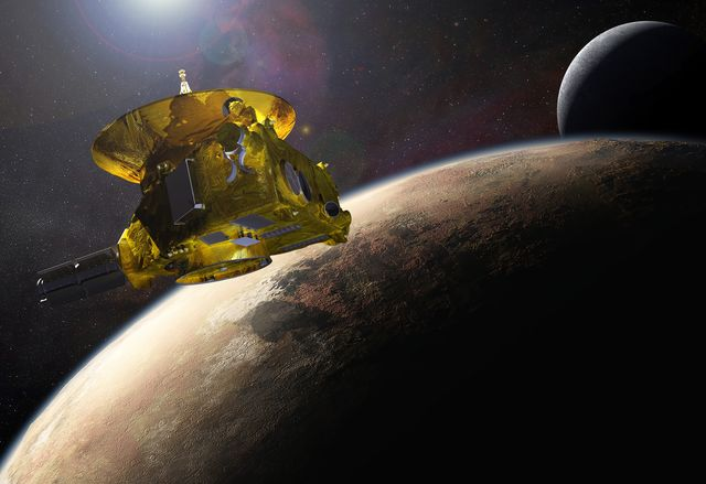 Spazio, sonda New Horizons comunica con la terra vicino a Plutone