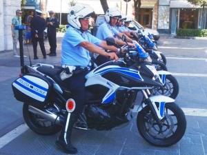 Nuove moto per la polizia Municipale di Savona