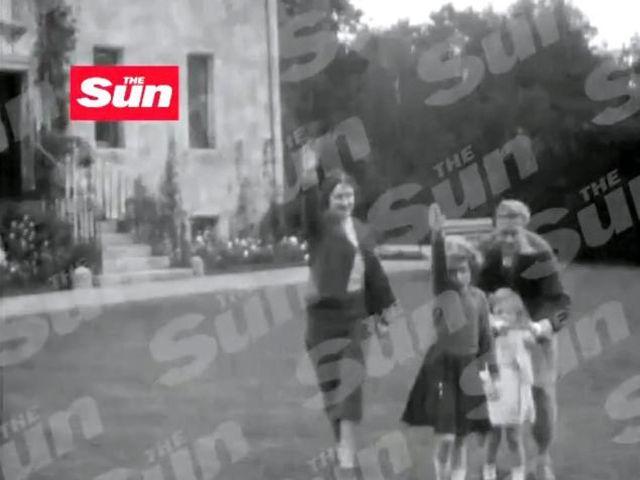 Elisabetta II, un video segreto mentre fa il saluto nazista