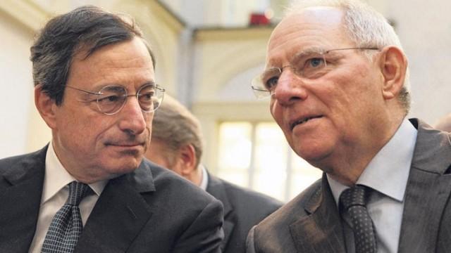 """Grecia – Annullato summit Ue a 28, lite Schaeuble-Draghi: """"Non prendermi per scemo!"""""""