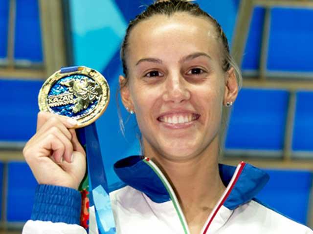 Campionati del Mondo di Nuoto. Tuffi. Tania Cagnotto d'oro