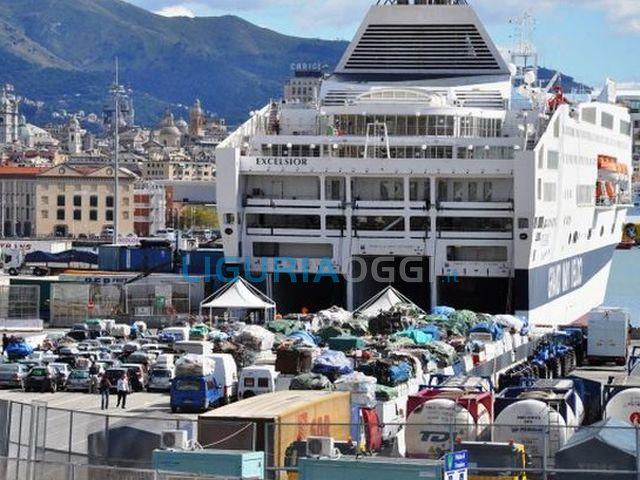 Genova – Code e caos alle partenze dei traghetti per controlli anti terrorismo