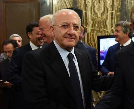 Vincenzo De Luca – Accolto ricorso: può governare Regione Campania
