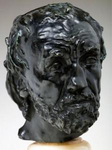 Rubata statua di Rodin in pieno giorno
